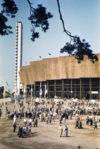 Olympiastadion 3.8.1952. Kuvaaja: H. A. Turja. Museoviraston kuvakokoelmat