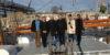 Itämeren alueen vedenalaisen kulttuuriperinnon työryhmän jäseniä Liettuan Klaipedassa tutkimusalus Brabanderin Kannella