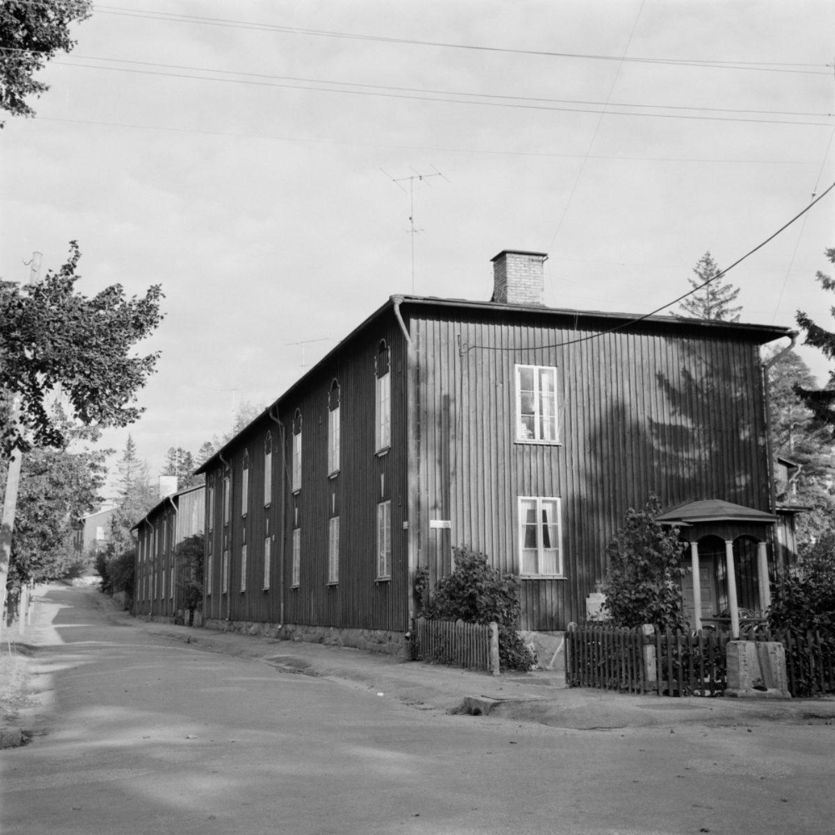 Puu-Käpylä in around 1960. Photo: Eero Häyrinen / Uusi Suomi - Iltalehti / JOKA / Finnish Heritage Agency