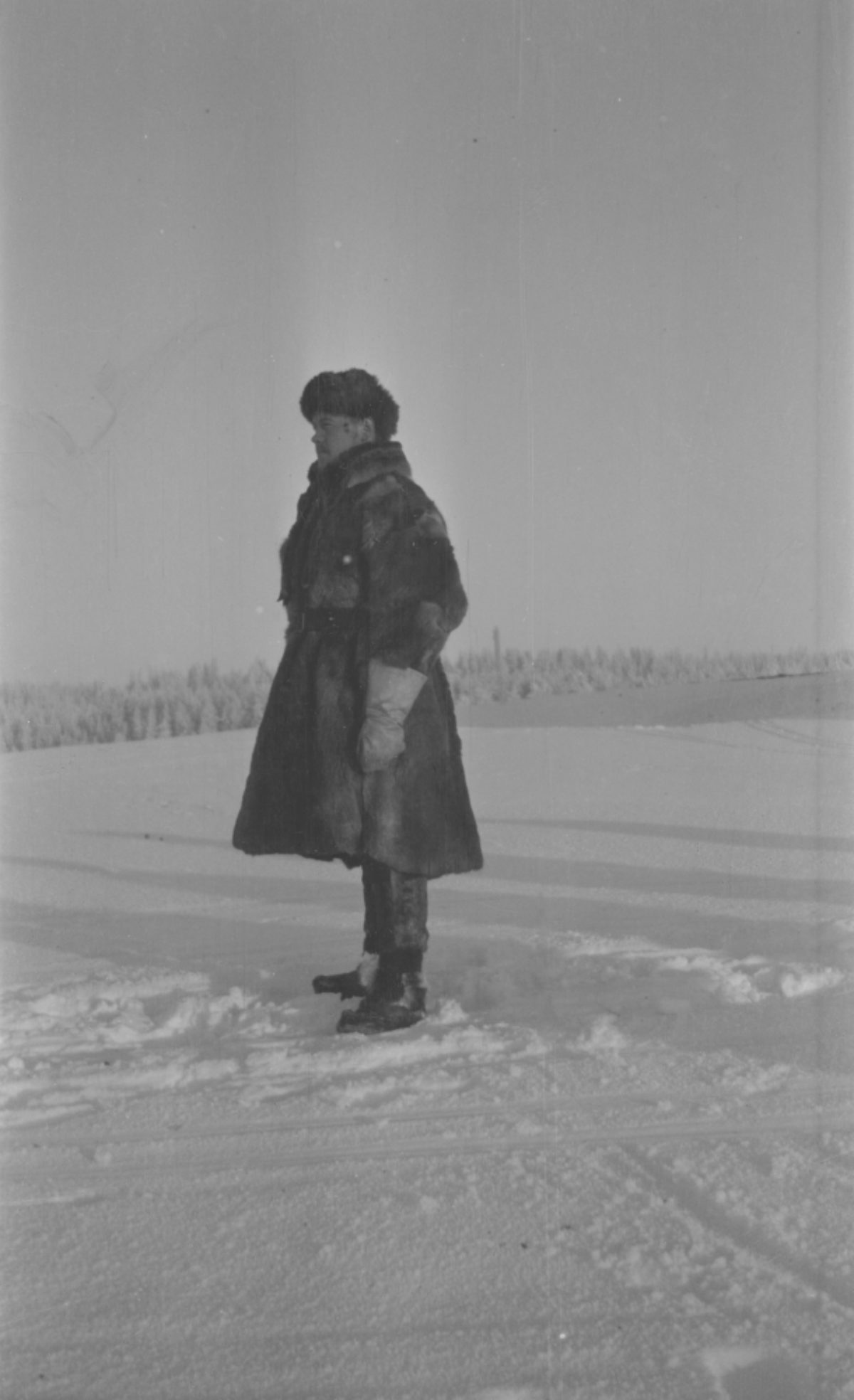The leader of Karelia's Forest Guerrillas Ilmarinen, i.e. Jalmari Takkinen, in 1921 or 1922.​ Photo: Erkki Räikkönen / Picture Collections of the Finnish Heritage Agency