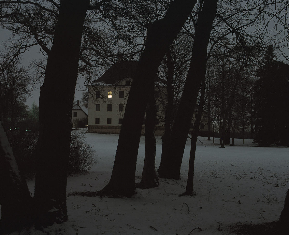 Louhisaari on a February night, 2005. Photo: Soile Tirilä / Finnish Heritage Agency