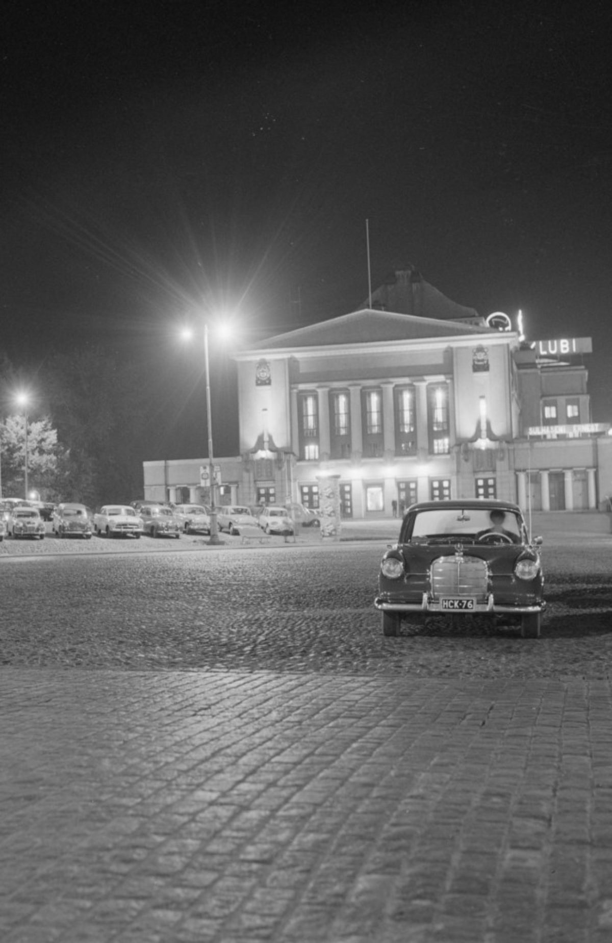 Tampere Central Square, 1963. Photo: Teuvo Kanerva / Picture Collections of the Finnish Heritage Agency