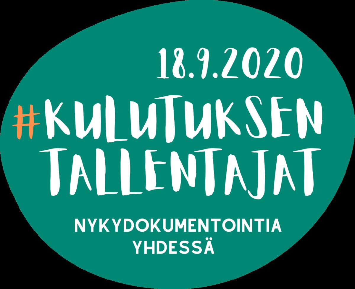 Kulutuksentallentajat-tempauksen logo